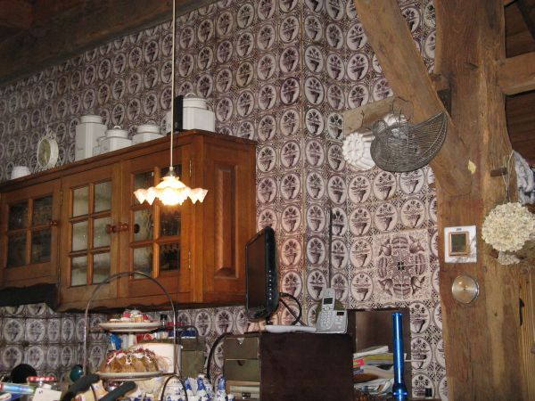 Toepassingen antieke tegels antieke tegels de duif for Antiek interieur