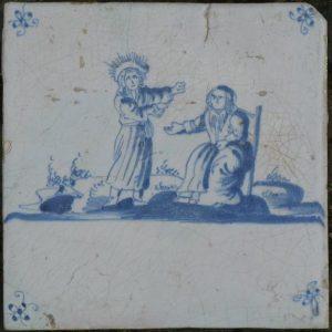 Antieke Bijbeltegel, Ruth