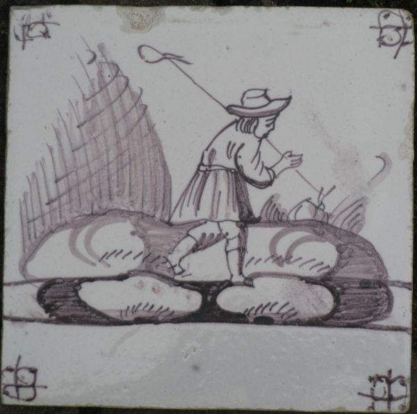 tegels voor de saksische boerderij