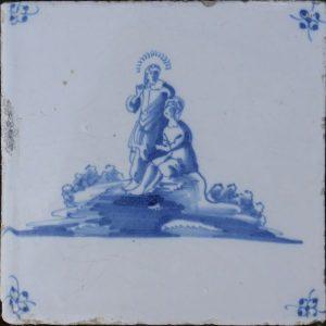 Antieke Bijbeltegel, Jezus en het kind