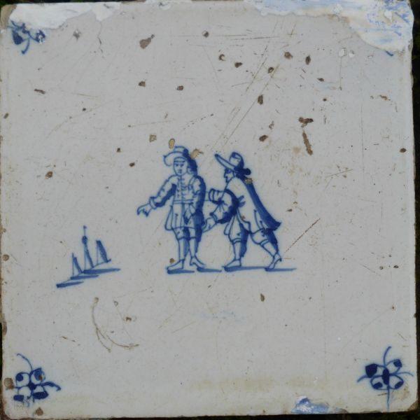 Antieke kinderspeltegel, kegelen