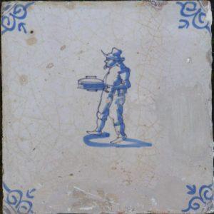 antieke figuurtegel, beroep