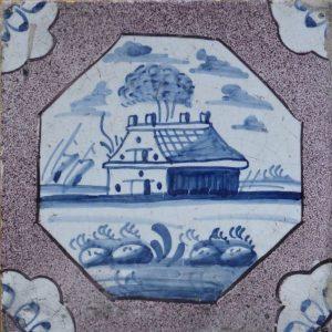 antieke landschapstegel antieke tegels