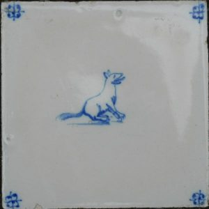 antieke dierentegel, hondenrassen