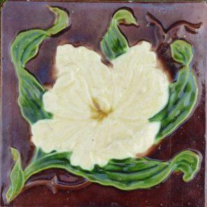 Artdeco jugendstil productcategorie n antieke tegels de duif hollandse tegels - Deco witte tegel ...