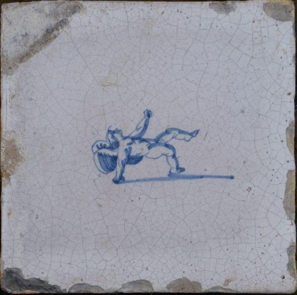 antieke mythologische tegels
