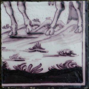 tableau in oude tegels
