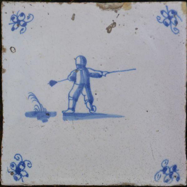 beroepen op antieke tegels