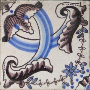 antieke vierpastegel