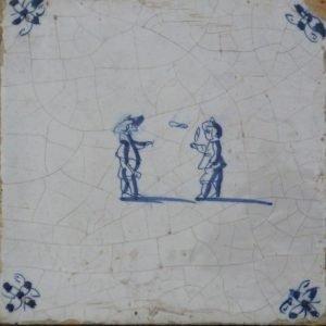 kinderspelen op tegels