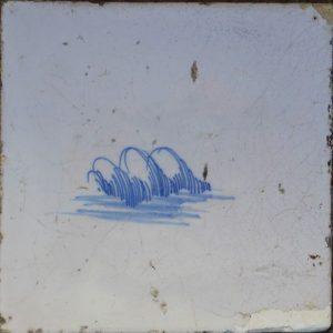 antieke delftse tegel
