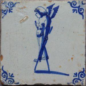 Antieke mythologische tegel