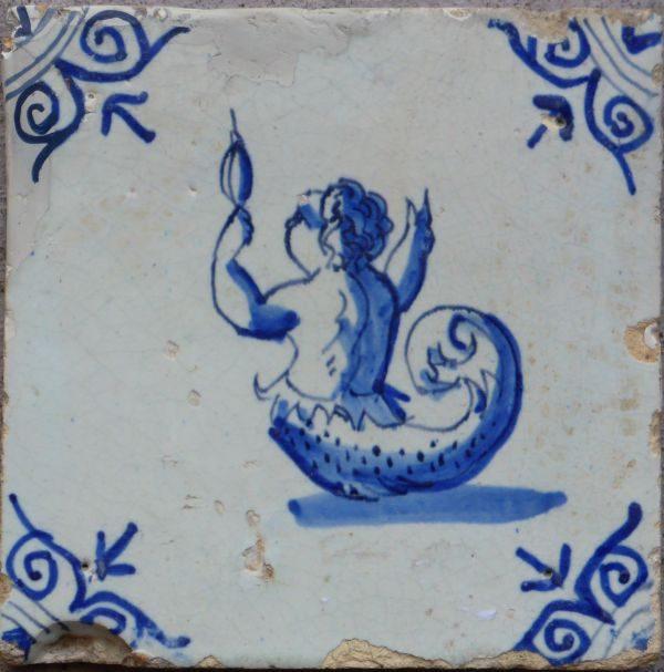 mythologische tegel