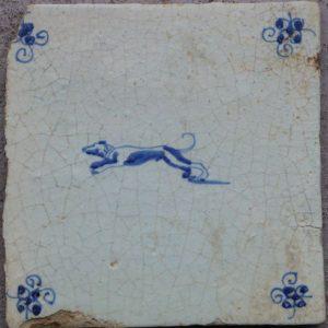 antieke muurtegel